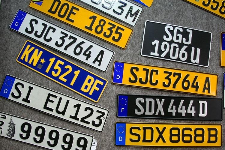 Motorist Car Licence Plate 5 Fun Facts