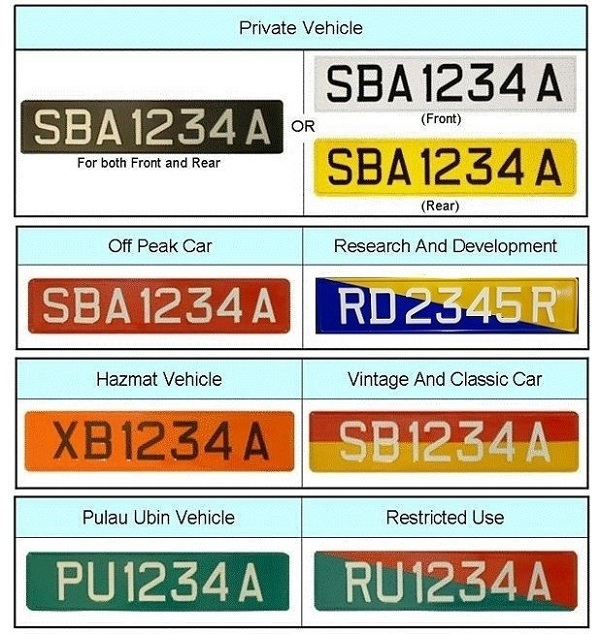 Motorist Colour Car Licence Plate