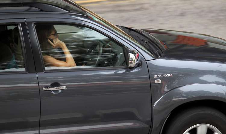 Using Phone In Car