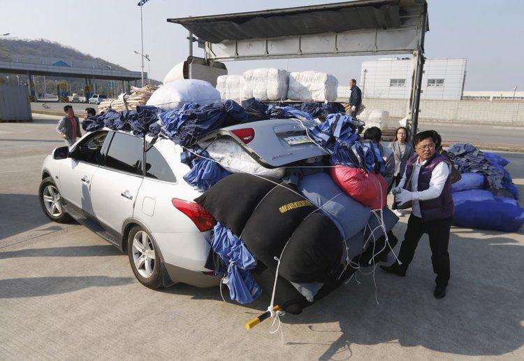 Filled Car