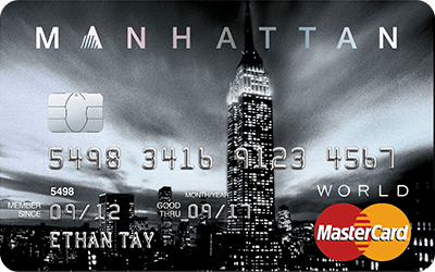 Image Standard Chartered Manhattan World Mastercard 2x  3