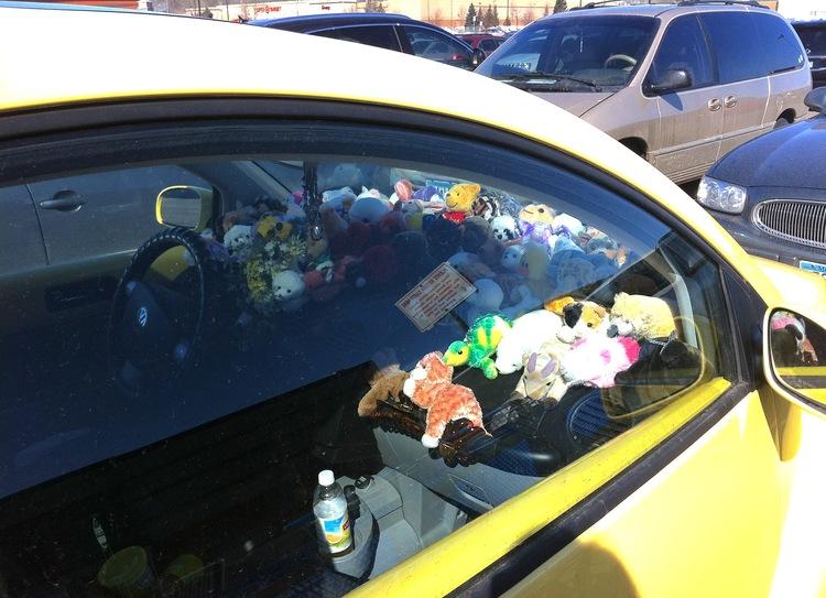 01 Stuffed Animal Car