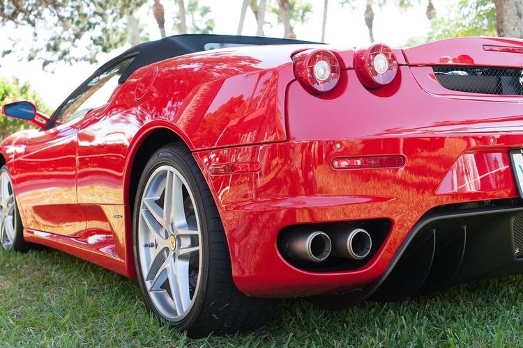 Ferrari 430 convertible insurance car