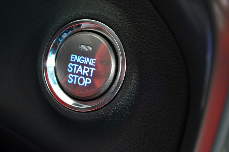 Start keyless ignition car
