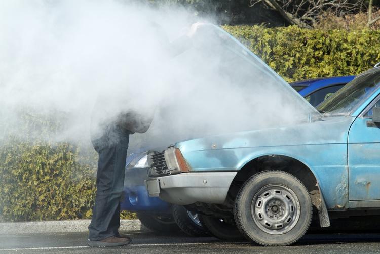 engine car overheat
