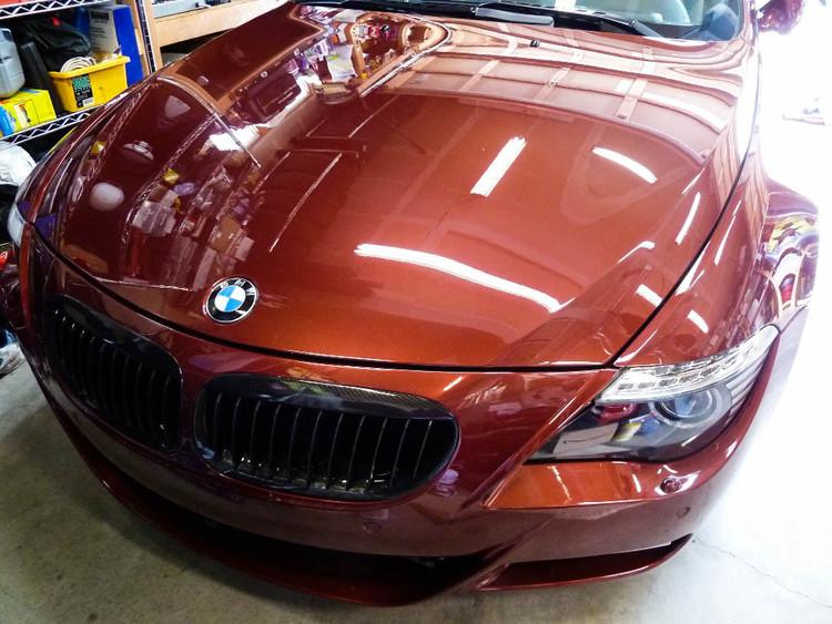 Sun Damage 7 bmw z3 sports car convertible wax