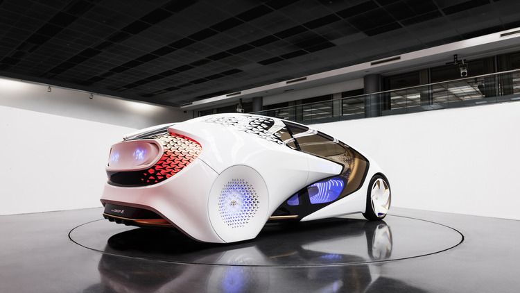 Ces Toyota Concept I Uses Artificial Intelligence To Grow Smarter 4