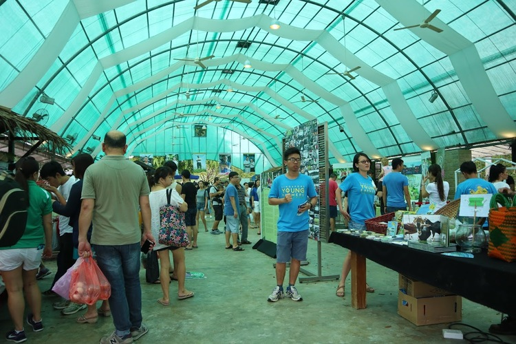 Farmers market kranji countryside agricultural stalls