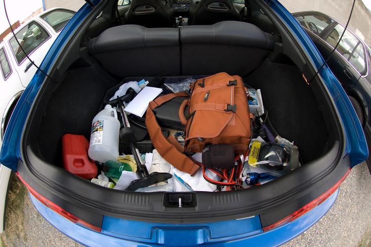 clutter in cars