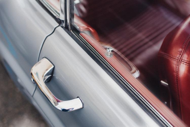 Car door handle lock