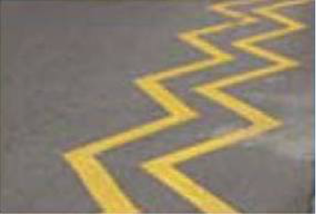 Double Yellow Zig Zag