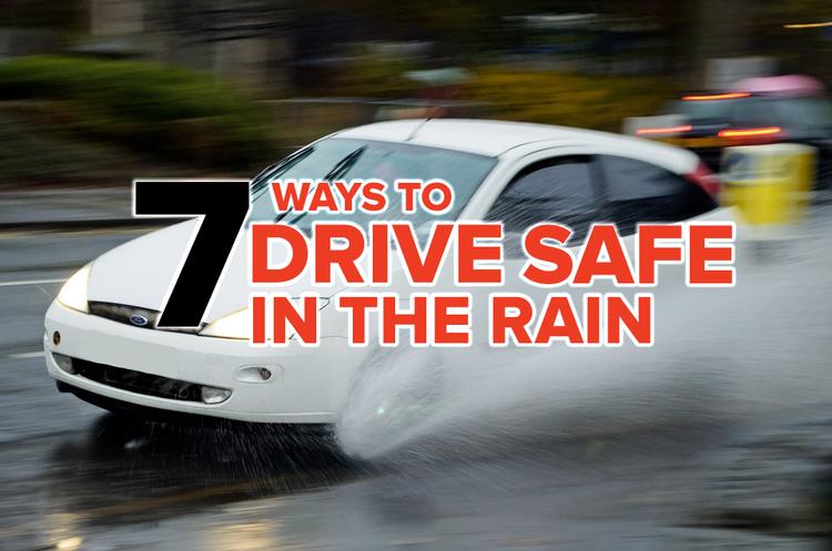 Driving safe safely Rain
