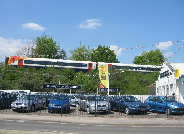 New Train  Second Hand Cars   Geograph