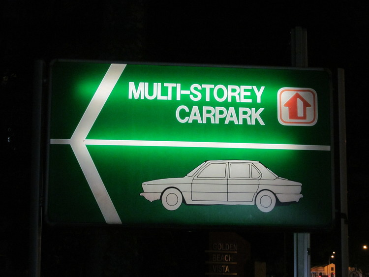 Old Car Park Sign  17413325764