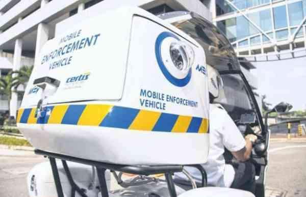 Mobile Enforcement Vehicle Hdb 1