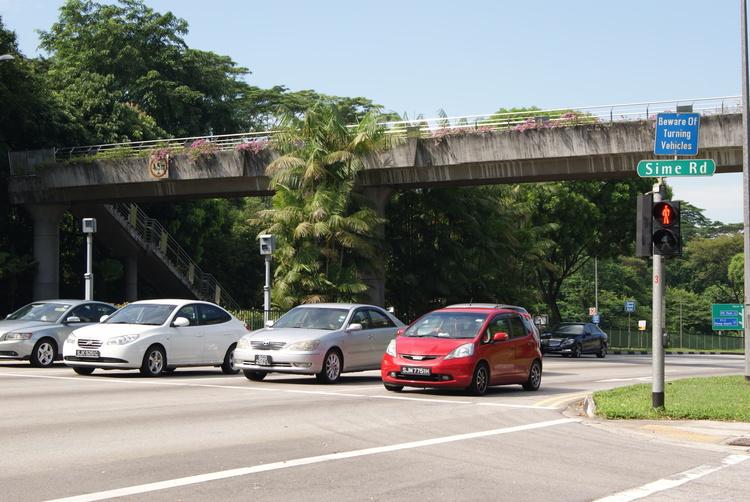 Traffic Light Junction Adam Road Singapore 20130728