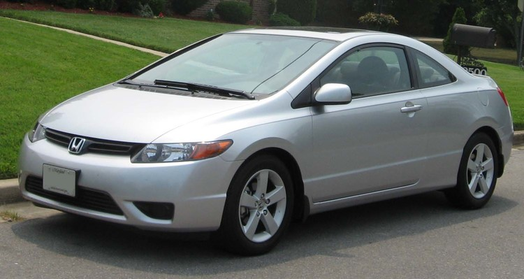06 07 Honda Civic Coupe