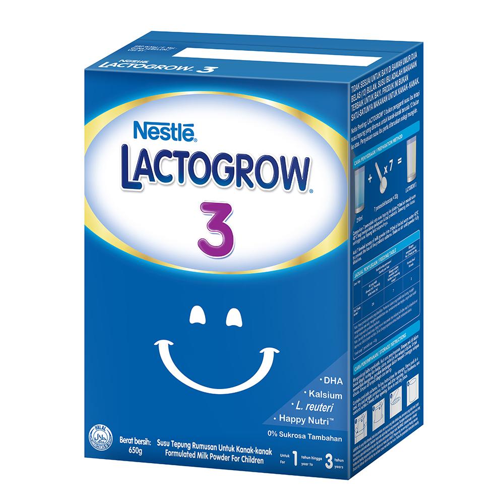 LACTOGROW 3 BIB, 1 box of 650g