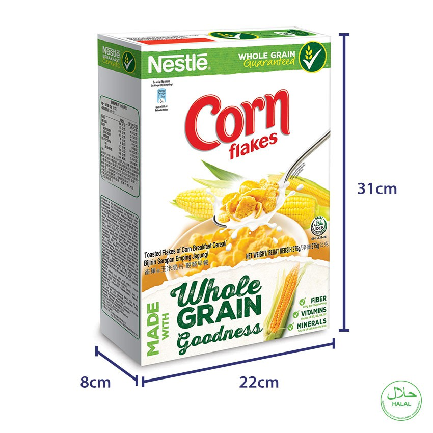 NESTLE CornFlakes Cereal 500g x2 boxes