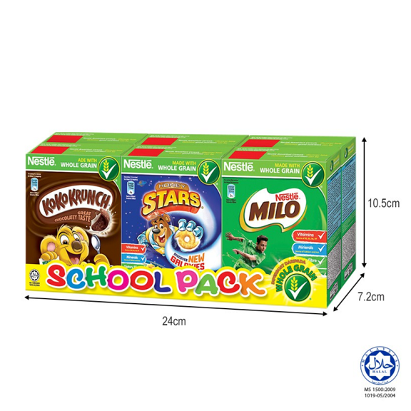 NESTLE School Pack Cereal 6 Boxes 140g (Exp. Date: Aug 19)