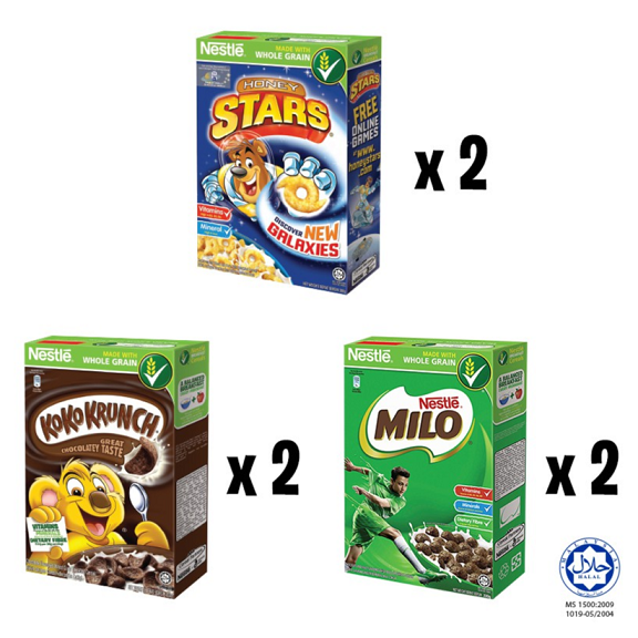 NESTLE School Pack Cereal 6 Boxes 140g