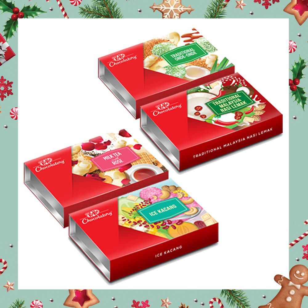 Nestle KITKAT Chocolatory Merry Christmas Gift Pack (option 1)