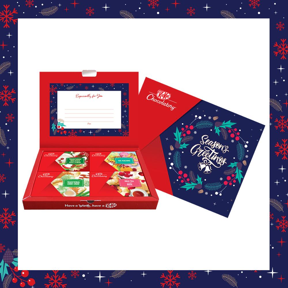 Nestle KITKAT Chocolatory Seasons Greeting Gift Pack (option 1)