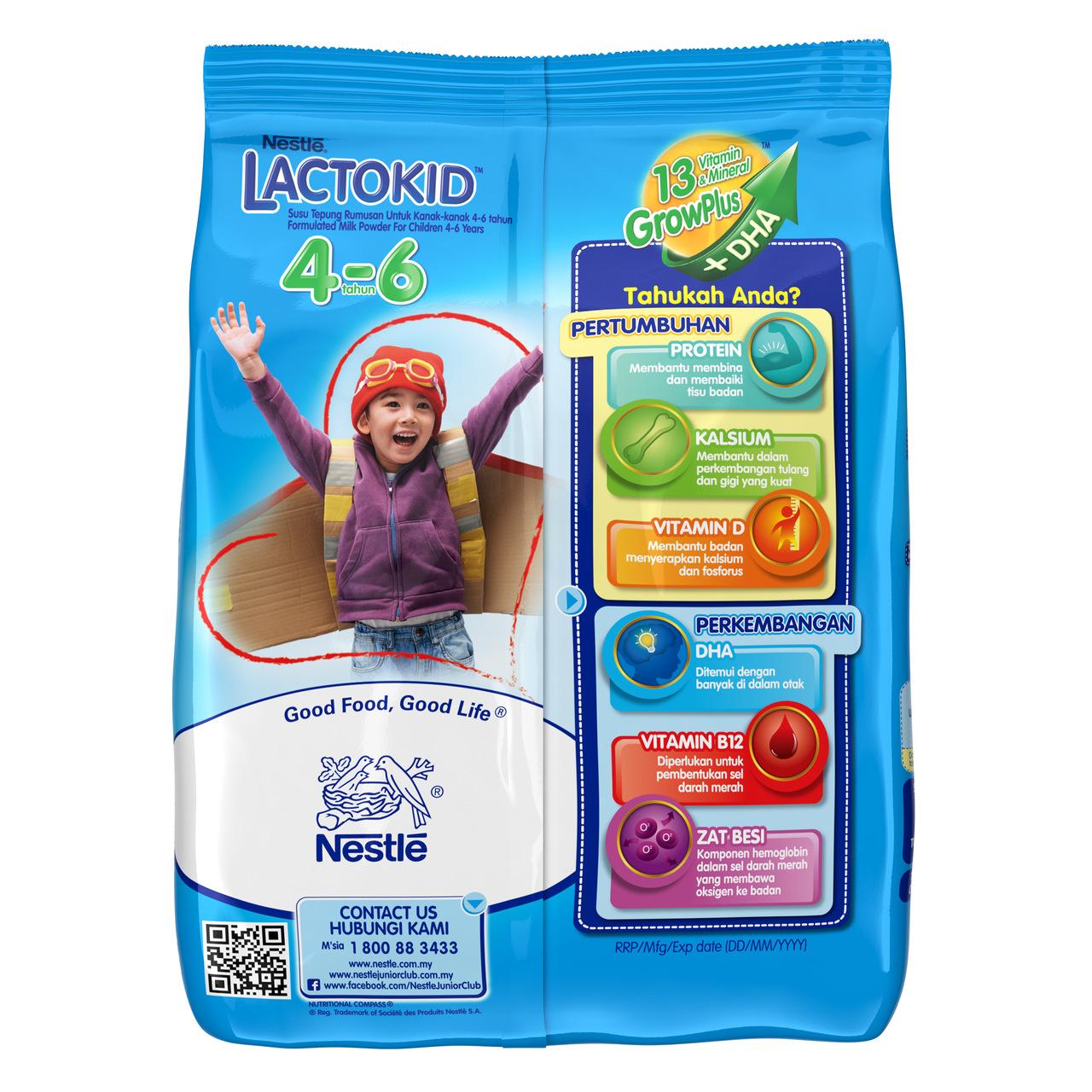 LACTOKID 4-6 without Probiotics Softpack 900g