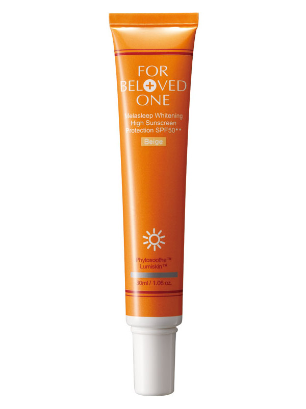 Whitening High Sunscreen Protection - Product Packaging