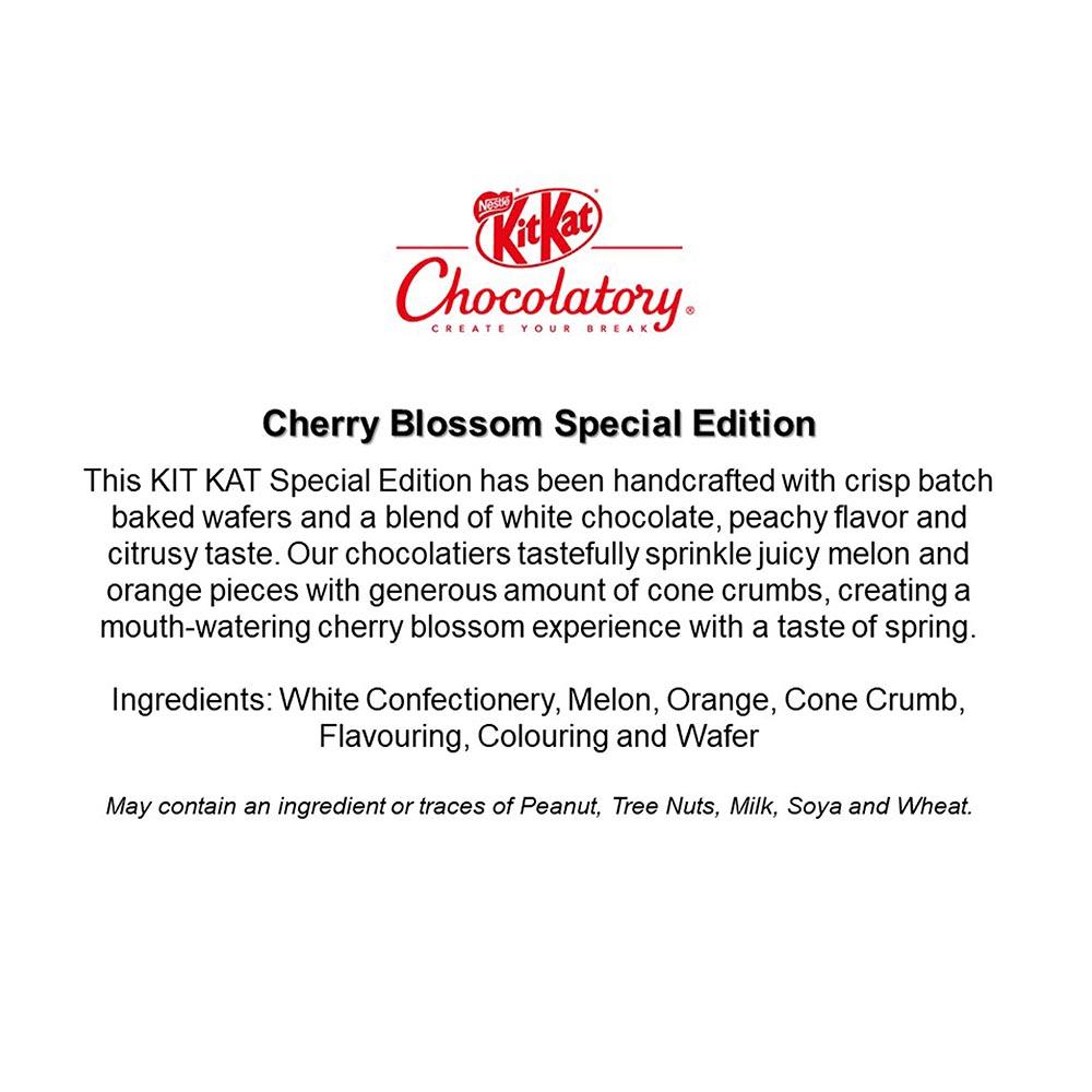 Nestle KITKAT Chocolatery - Cherry Blossom
