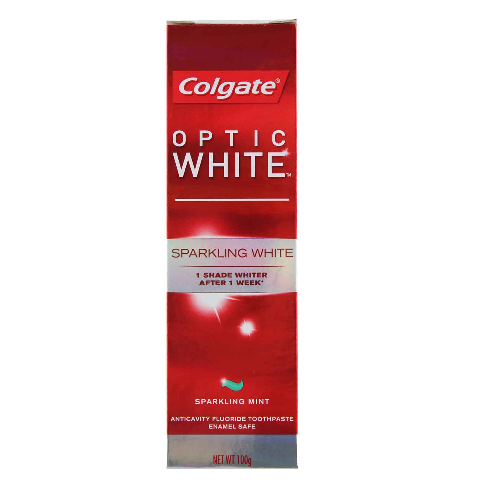 Colgate Optic White Sparkling White Toothpaste 100g