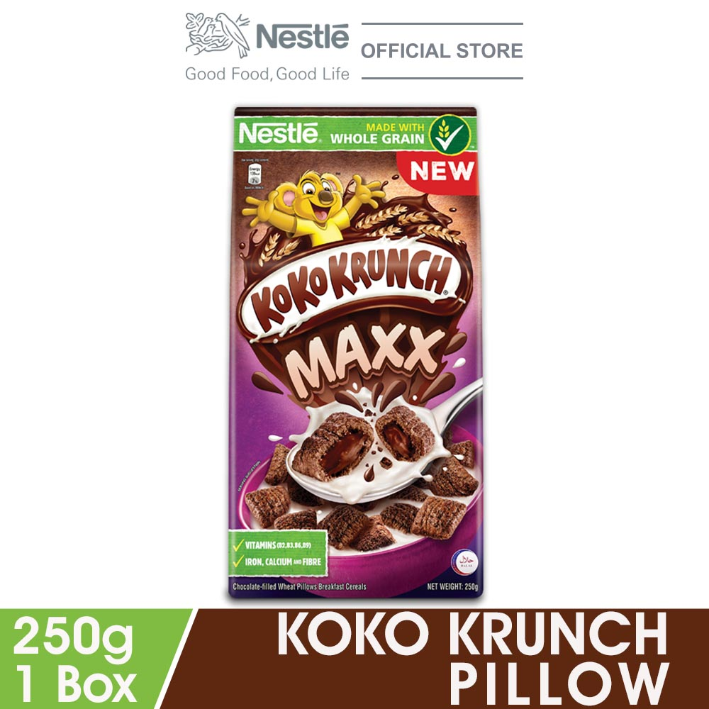 NESTLE KOKO KRUNCH Pillows 250g
