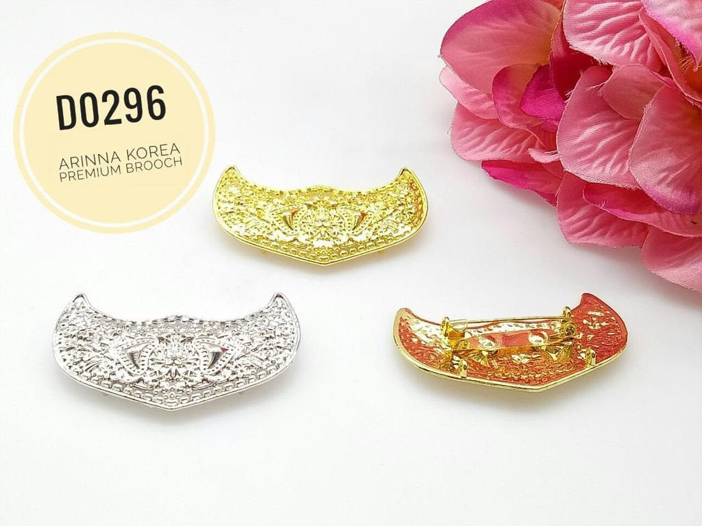 D0296 Brooch Dokoh (30pcs)