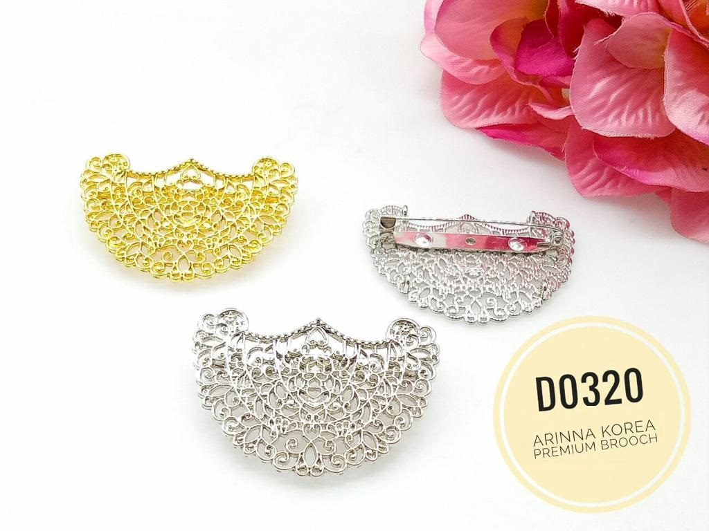 D0320 Brooch Dokoh (25pcs)