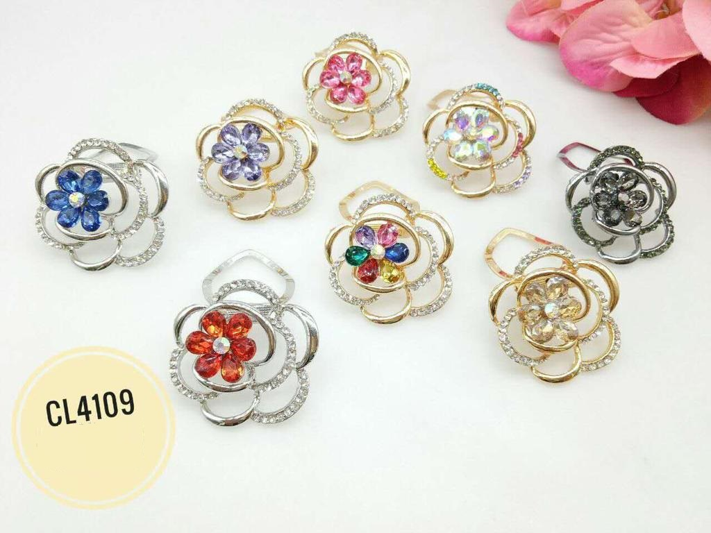 CL4109 Korea Brooch Klip/Clip Brooch (35pcs)