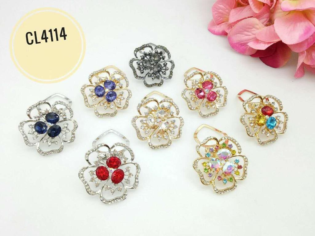 CL4114 Korea Brooch Klip/Clip Brooch  (35pcs)