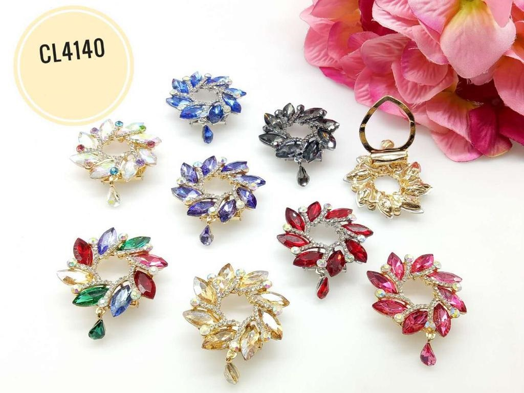 CL4140 Korea Brooch Klip/Clip Brooch (35pcs)