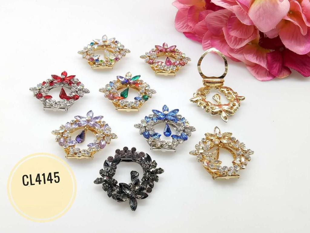 CL4145 Korea Brooch Klip/Clip Brooch (35pcs)