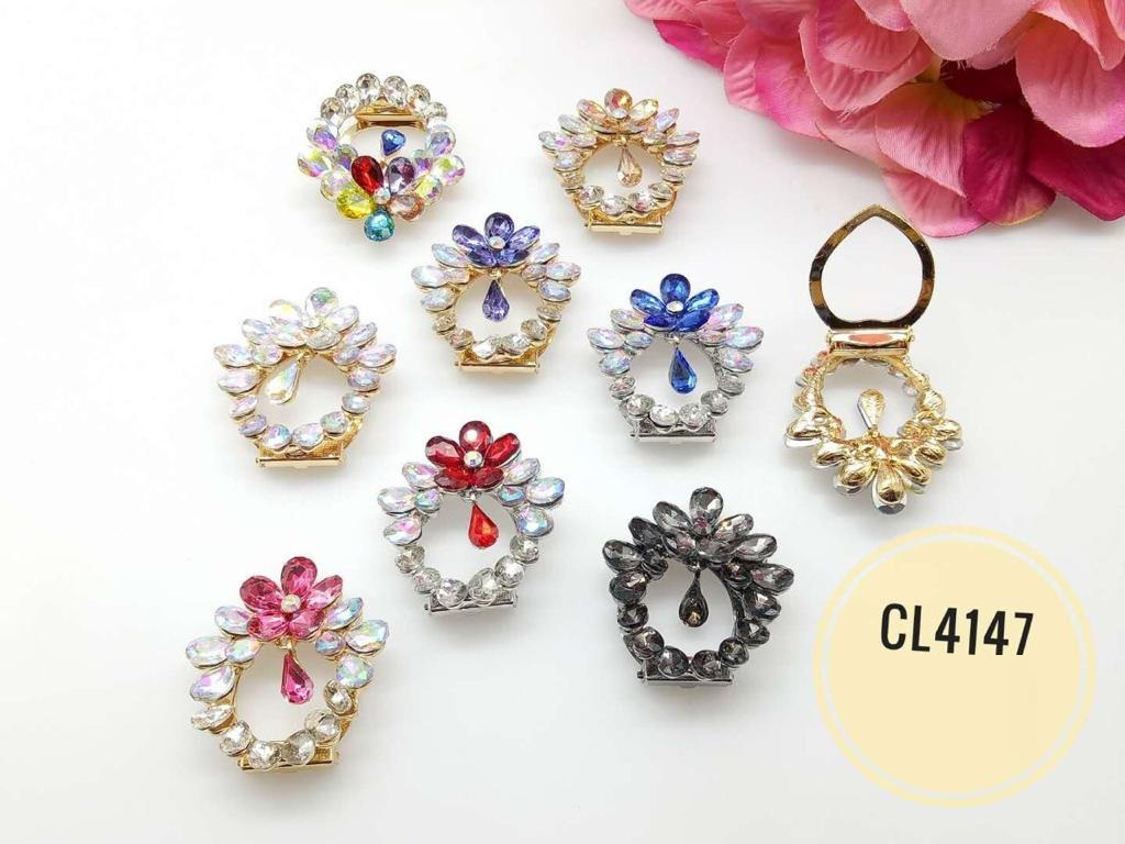 CL4147 Korea Brooch Klip/Clip Brooch (35pcs)