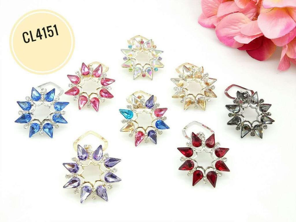 CL4151 Korea Brooch Klip/Clip Brooch (35pcs)