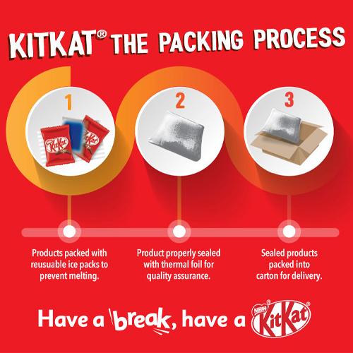 Nestle KITKAT Chocolatory Hearts Gift Pack Option 4