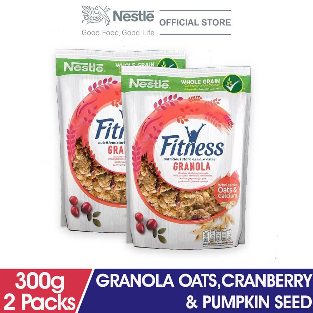 NESTLE FITNESSE Granola Oats Cranberry & Pumpkin Seed 300g x2