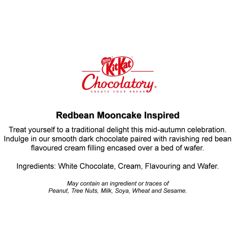 KITKAT Chocolatory Mooncake Inspired KITKAT - Red Bean
