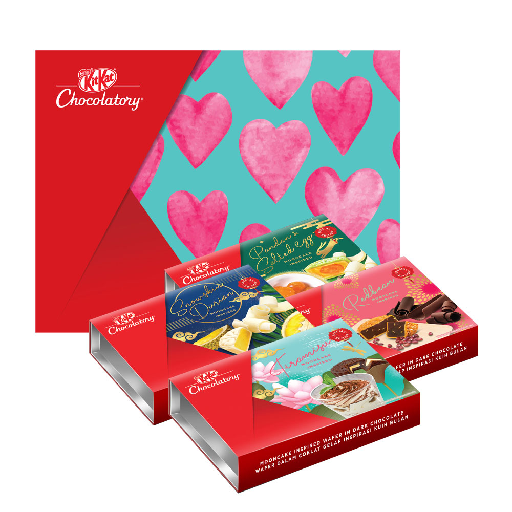 Nestle KITKAT Chocolatory Hearts Gift Pack - Mooncake Edition