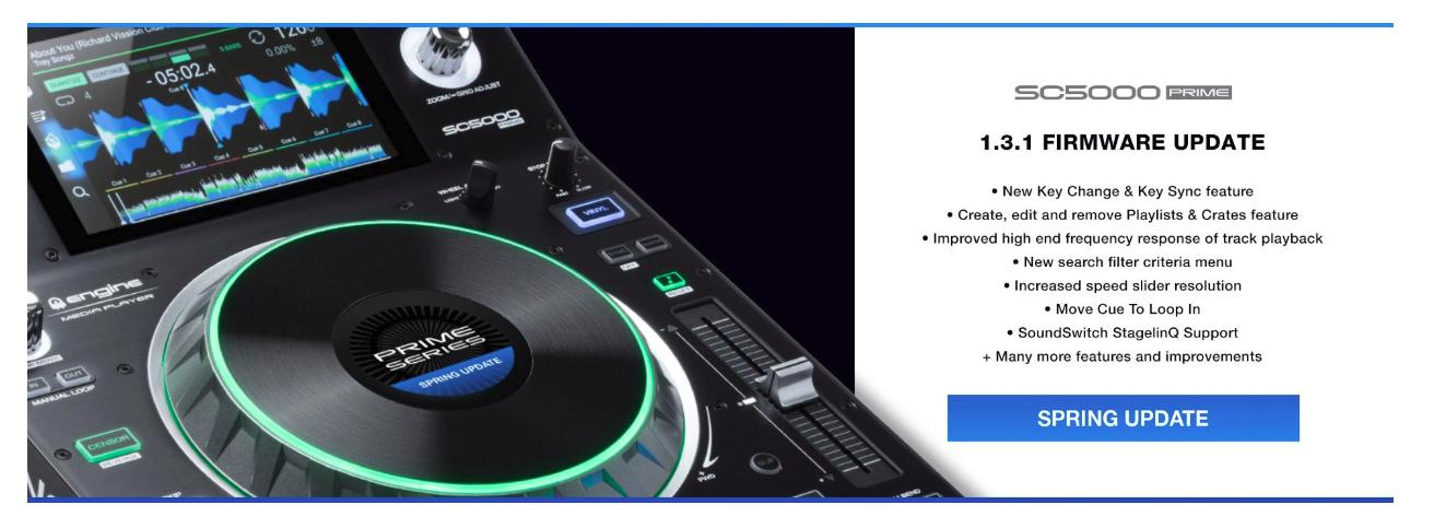 Denon DJ SC5000 Prime - Professional DJ Media Player with 7