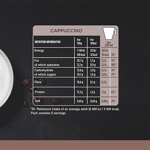 STARBUCKS Cappuccino 12 Cap 120g