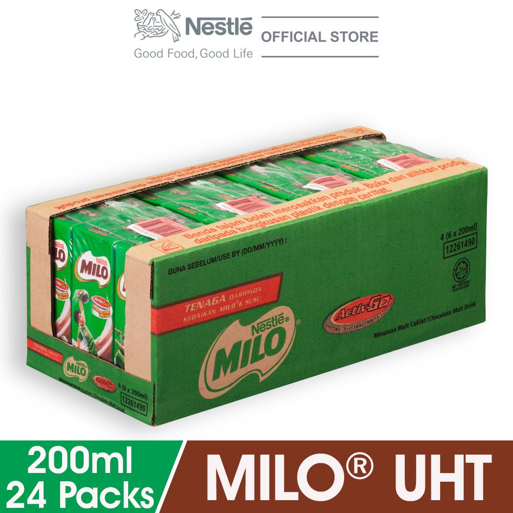 MILO ACTIV-GO UHT 24 x 200ml (Cartons)