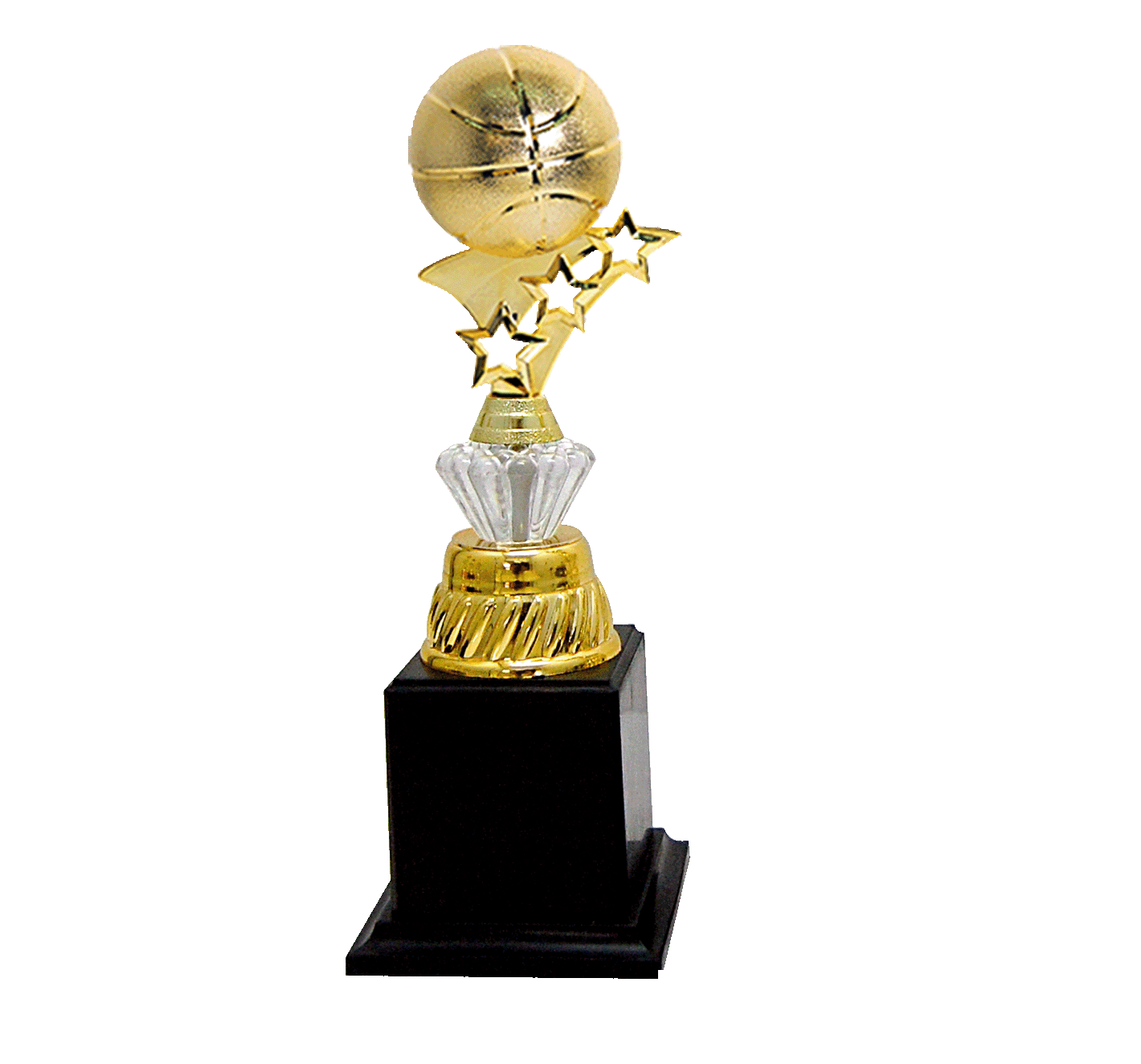 AT30572(5) Acrylic Pattern Trophy-Basketball (A/B/C)