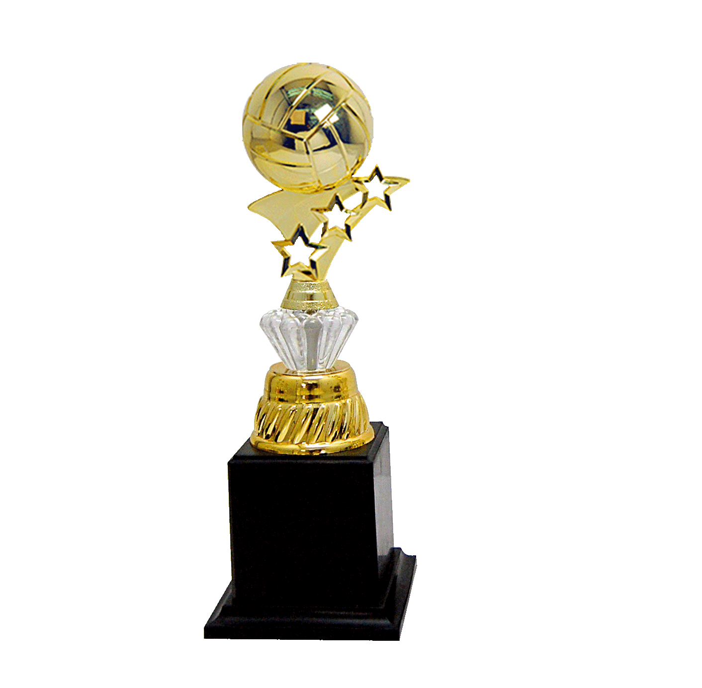 AT30572(6) Acrylic Pattern Trophy-Volleyball (A/B/C)