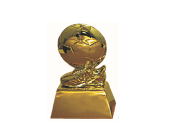 FT4145 Half Fiber Football Trophy (A/B/C)